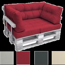 Комплект възглавници за мебел от палета ЛУКС - Червен