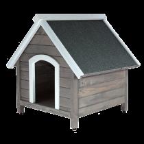 Сива къща за куче S