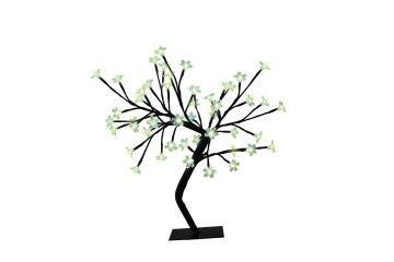 Декоративно дръвче със светещи LED цветчета 48бр-45см