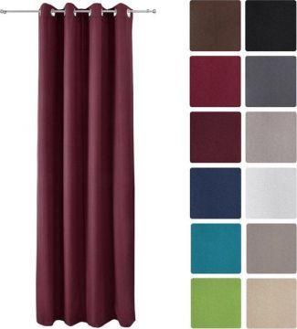 Луксозно термо перде с вградени халки 140Х245см - Различни цветове