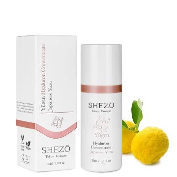 Хиалурон концентрат SHEZO 30ml с витамин С и екстракт от юзу