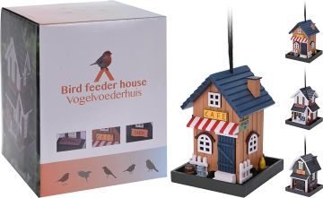 Декоративна къща-хранилка за птици