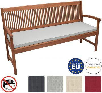 Възглавница за пейка Beautissu 150х48х5см - Различни цветове