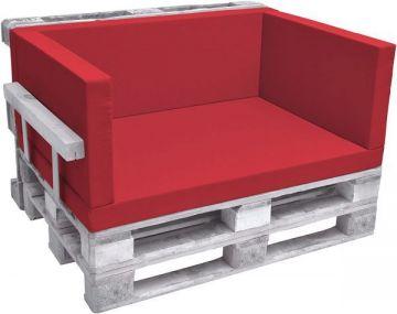 Комплект възглавници за мебел от палета - Червен