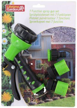 Градински пистолет за поливане 7 функции