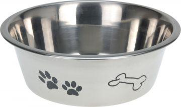 Кучешка паничка INOX с орнаменти 21см