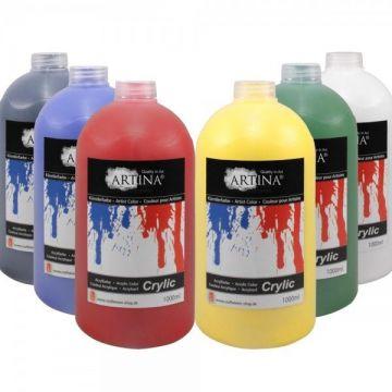 Акрилна боя Artina 1000мл - Различни цветове