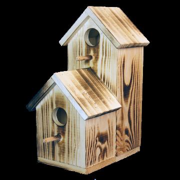 Къща за птици Двойна