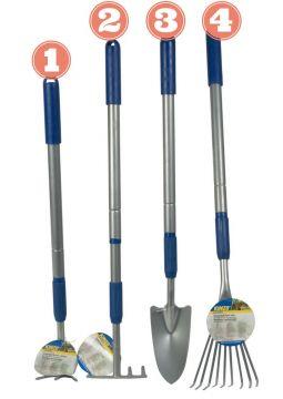 Градински инструменти с телескопични дръжки
