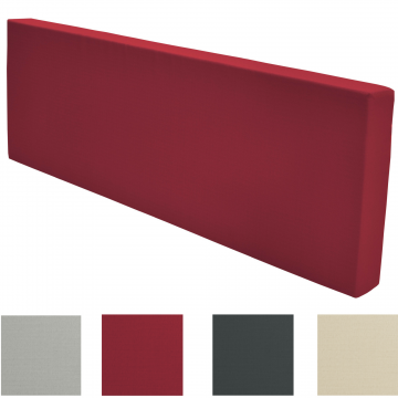 Палетна възглавница гръб 120х40х8см - Различни цветове