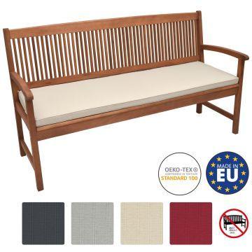 Възглавница за пейка Beautissu 120х48х5см - Различни цветове
