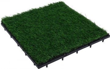 Акациев паркет имитиращ трева ProGarden пакет 9бр 0,81 м2