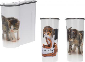 Контейнер за кучешка или котешка храна 4L