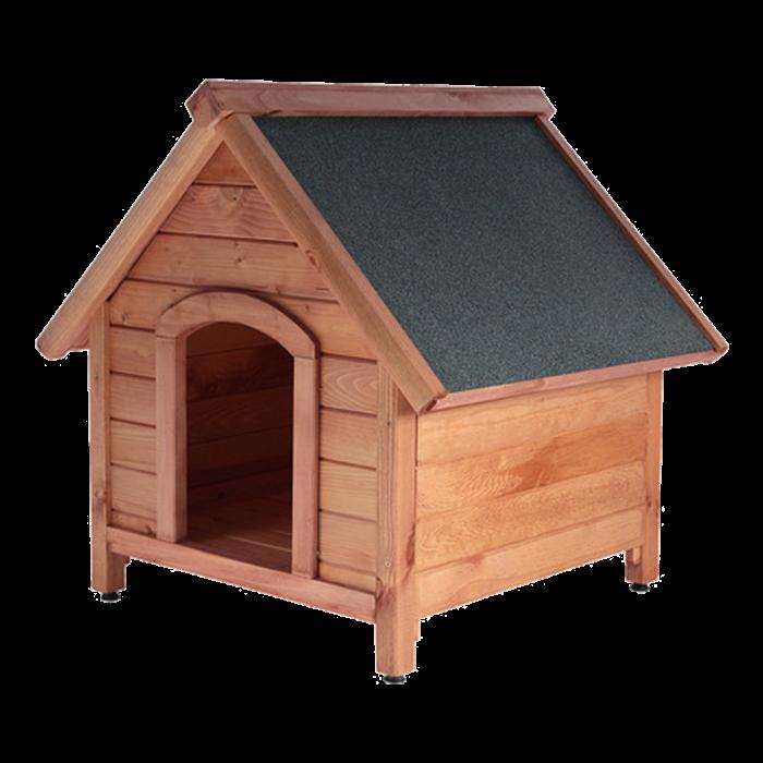 Кафява къща за кучета XL
