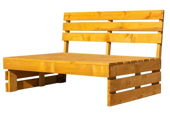 Градинска пейка с гръб 120Х80см