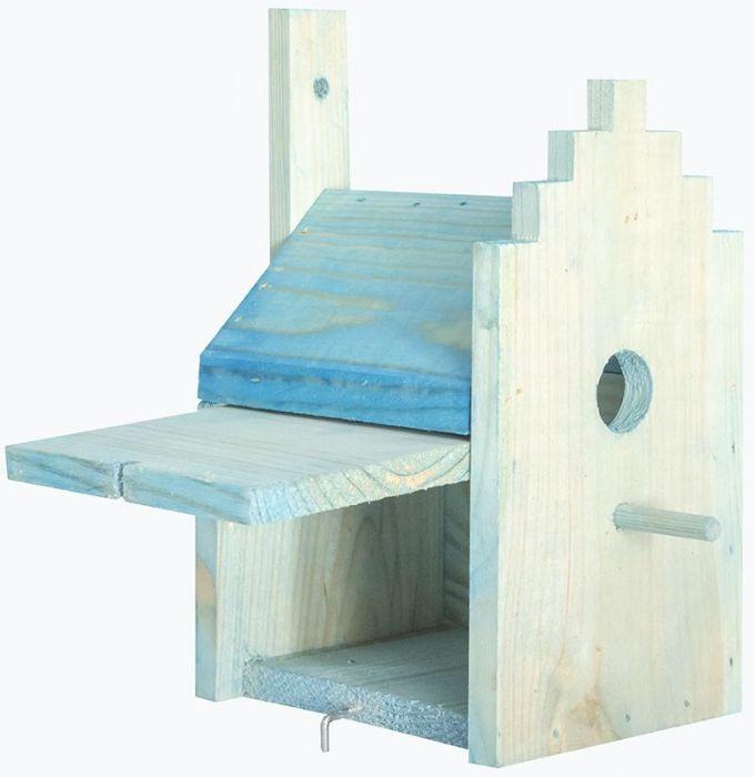 Къщичка за птички за стена