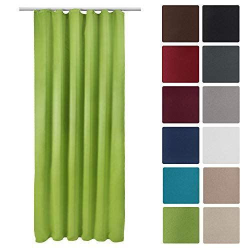 Луксозно перде Blackout за закачане с кукички 140х245см - Различни цветове