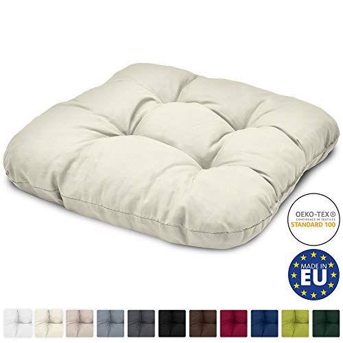 Възглавница за стол Лиса 40х40х8см - Различни цветове