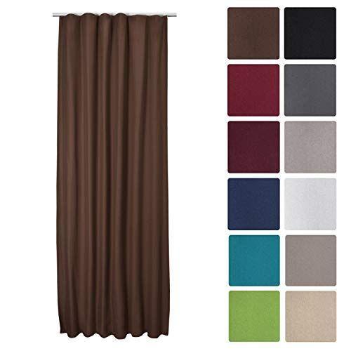Луксозно термо перде за закачане с кукички 140Х245см - Различни цветове