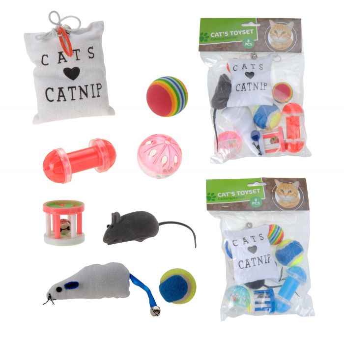 Комплект играчки за котка