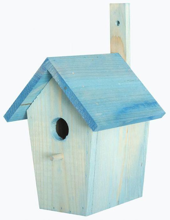 Къщичка за птички със странично отваряне