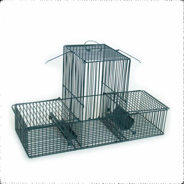Капан за птици с три отделения