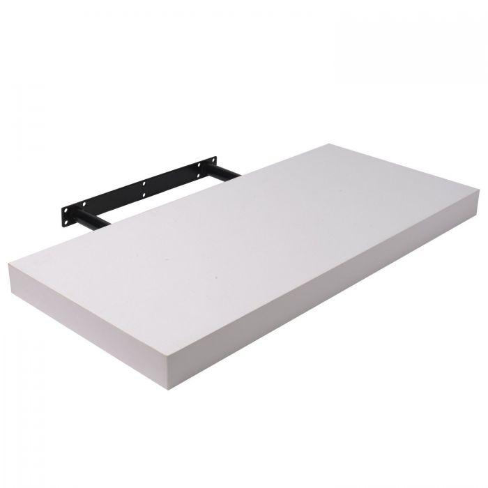 Рафт за стена Moorland 50х22,8х3,4см бял