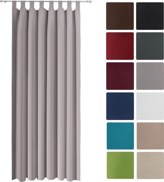 Луксозно перде Blackout за закачане с ленти 140х245см - Различни цветове