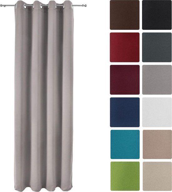 Луксозно перде Blackout с вградени халки 140х245см - Различни цветове