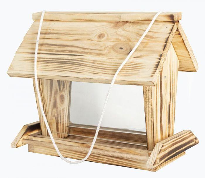 Хранилка за птички с двойно стъкло