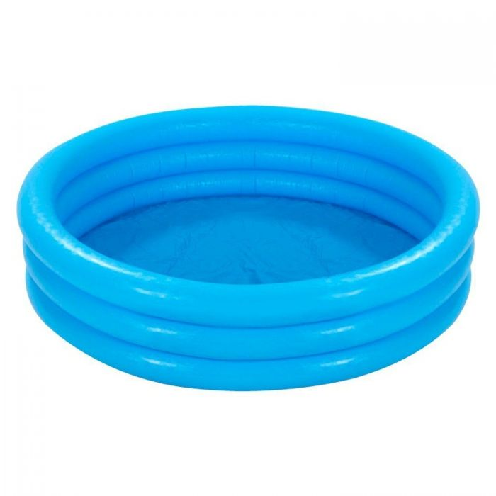 Надуваем басейн INTEX 168х41 см