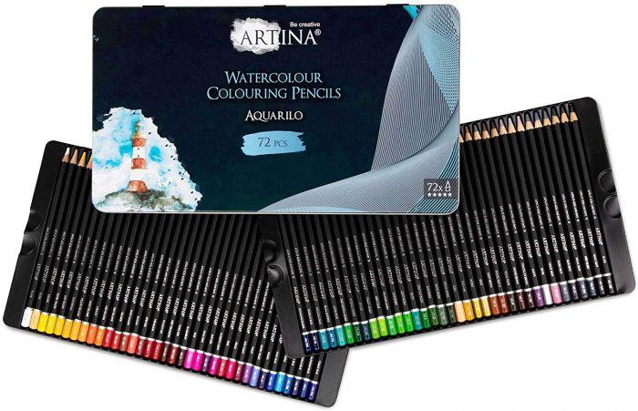 Комплект 72 бр. акварелни моливи Artina Buntstifte