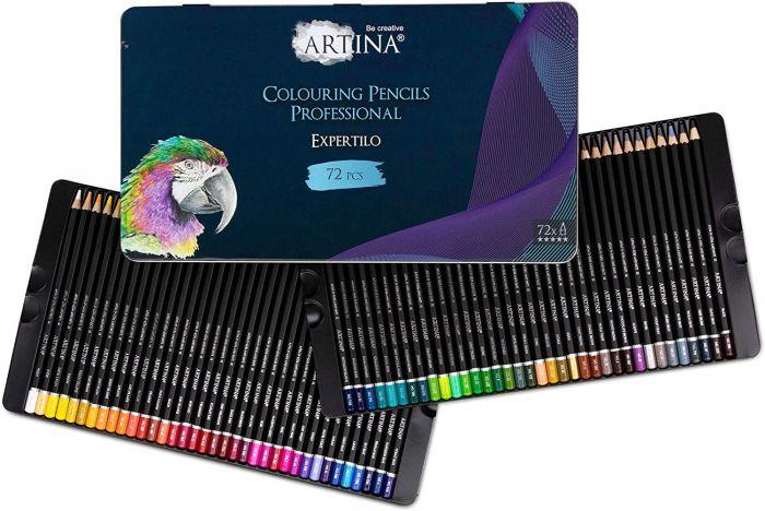 Професионален комплект от 72 бр. моливи Artina Expertilo