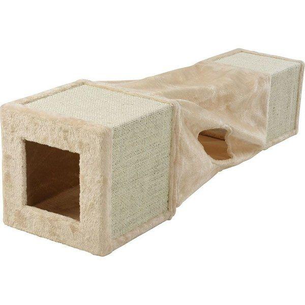 Тунелче за котки 2в1 29x29x106см