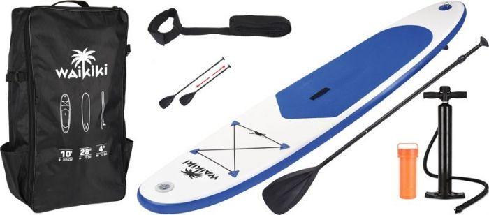 WAIKIKI Надуваем сърф комплект син с бяло