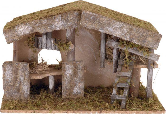 Коледен 3D пейзаж 49х20х30,5см