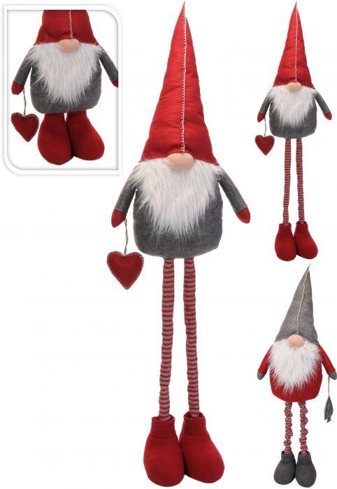 Коледен гном с телескопични крака 160см