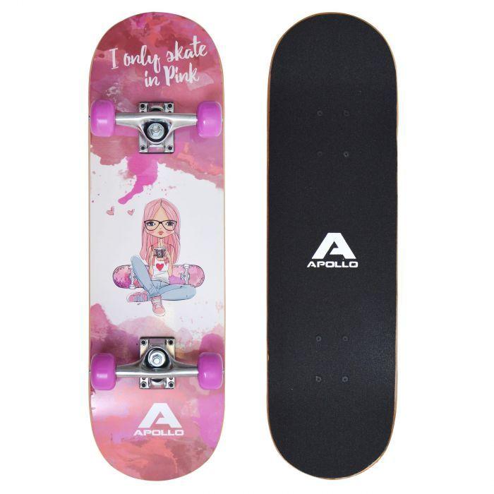"""Детски скейтборд """"Skaterprincess"""" Apollo"""