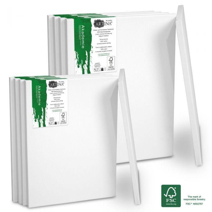 Комплект платна за рисуване Artina Порто10 броя със сертификат FSC®