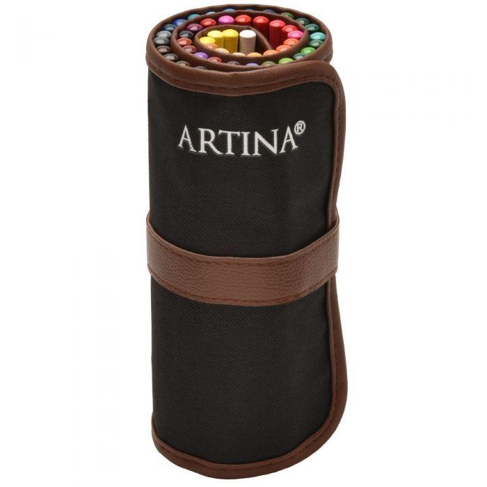 Комплект моливи Artina Torino 48бр. с Roll up несесер