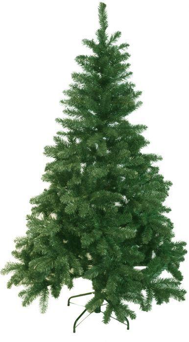 Голяма коледна елха изкуствена 155см - 377 бр, върхови клонки