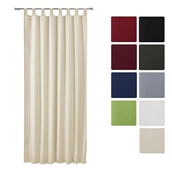 Луксозно перде с лек затъмняващ ефект с ленти 140х175см - Различни цветове