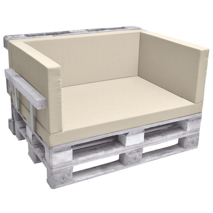Комплект възглавници за мебел от палета - Бежев