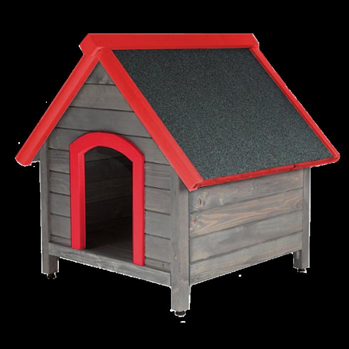 Червена къща за куче XL