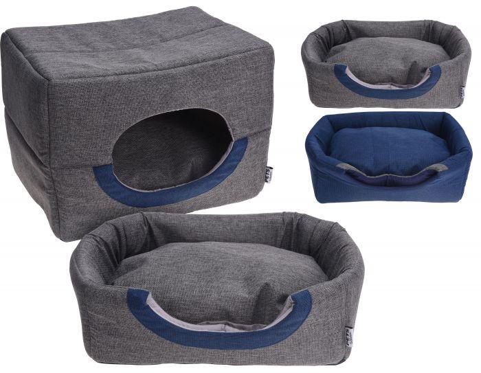Кучешко легло хралупа 2 в 1