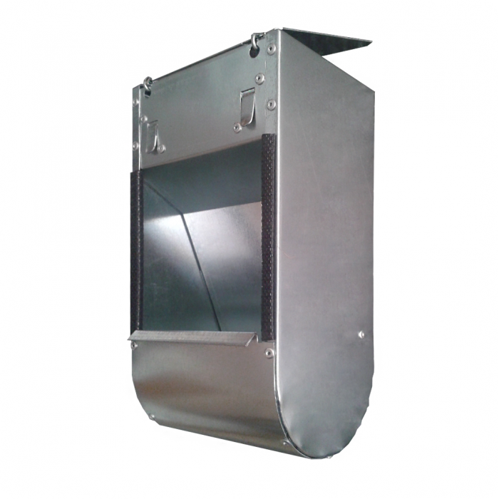 Единична метална хранилка