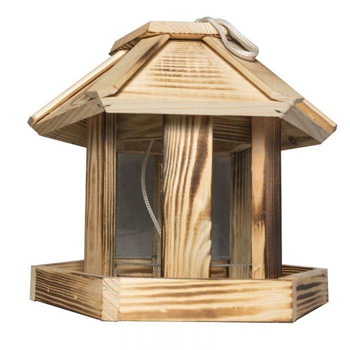 Хранилка за птици шестоъгълна