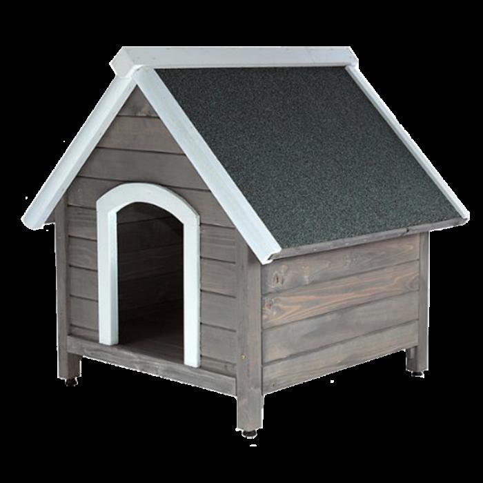 Сива къща за куче XL