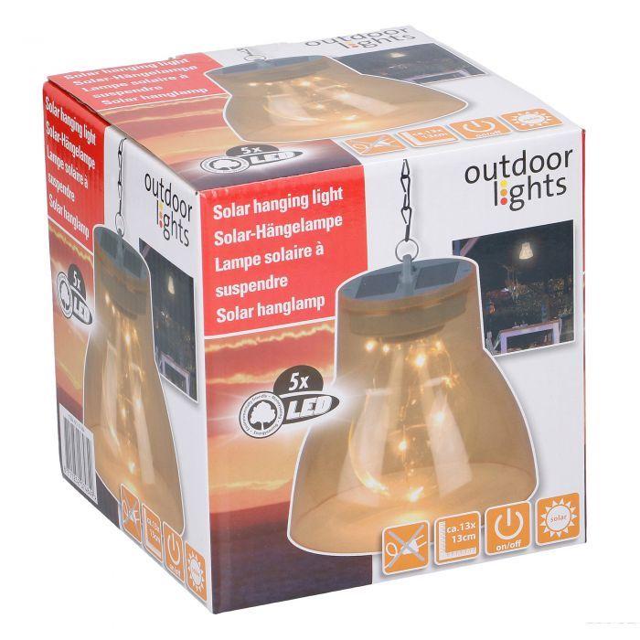 Външна градинска LED лампа