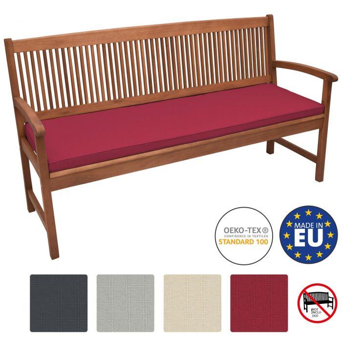 Възглавница за пейка Beautissu 100х48х5см - Различни цветове